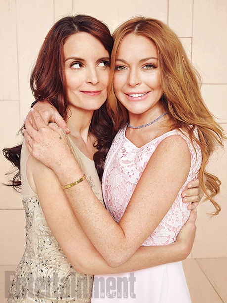Tina Fey and Lindsay Lohan, Mean Girls