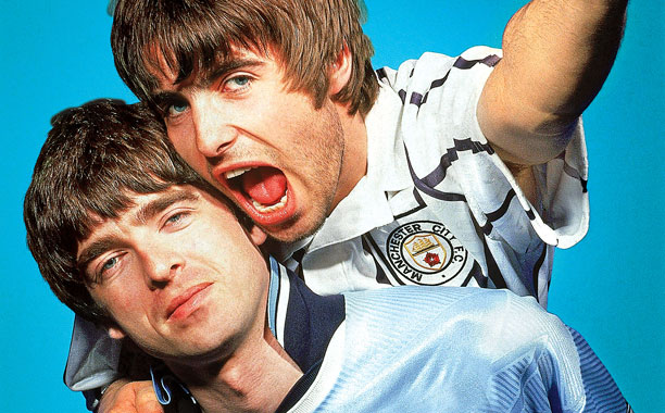 (WHAT'S THE STORY) MORNING GLORY? REISSUE Noel Gallagher and Liam Gallagher