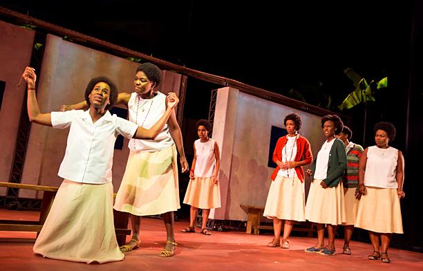 OUR LADY OF KIBEHO Nneka Okafor, Joaquina Kalukango, and cast
