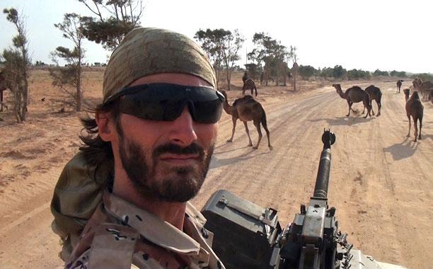 POINT AND SHOOT Matt VanDyke in Libya