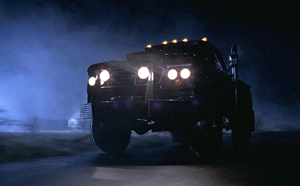 Season 1, episode 13 In a not-so-memorable hour, the brothers are forced to face off with a black truck that keeps running people over/running them…