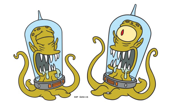 Simpsons Kang And Kodos
