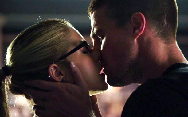 Olicity Kiss, Arrow