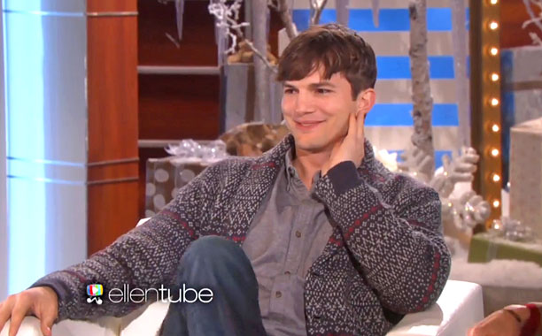 Ashton Kutcher Ellen Interview