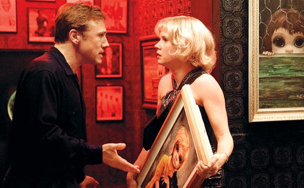 BIG EYES Christoph Waltz and Amy Adams