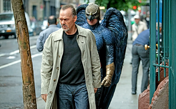 James Corden, Into the Woods Ralph Fiennes, The Grand Budapest Hotel Michael Keaton, Birdman (shown) Bill Murray, St. Vincent Chris Rock, Top Five