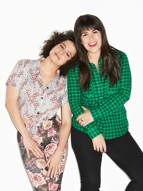 Best and Worst 2014 | The razor-tongued heroines of Comedy Central's Broad City , would probably say they made 2014 their bitch, but the real women behind the outrageous caricatures…