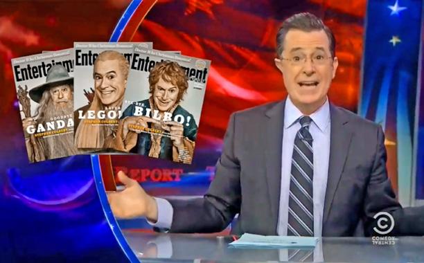 Colbert Report Ew