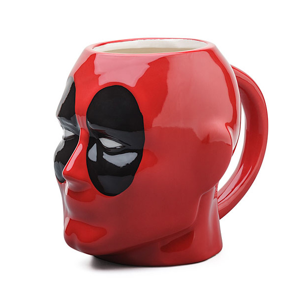 Perfect for lifelong fans of the merc with a mouth, or those who want to stay ahead of the superhero movie curve, this Deadpool mug…
