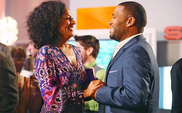 Suburbia and four kids can't squash these super-sweethearts' flame. Dre (Anthony Anderson) and ''Bow'' (Tracee Ellis Ross) may not agree on certain political topics (and,…