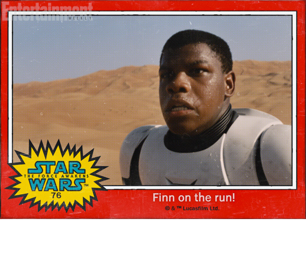 We also don't know the last name of John Boyega's character, so that could also be an important omission. But the extra three words of…