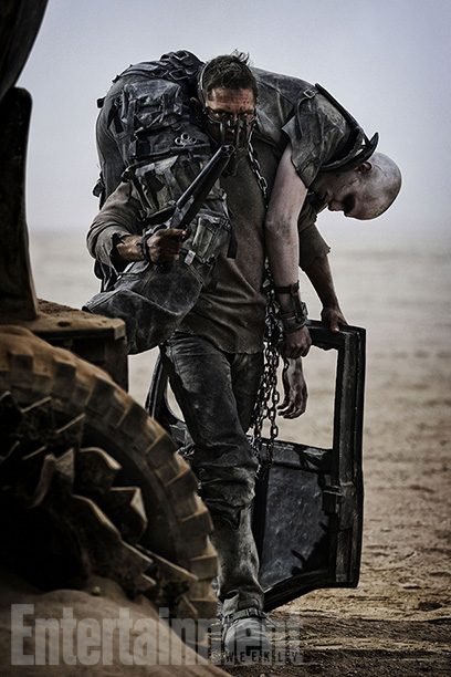 Let's call it a meet-angry. When Mad Max (Tom Hardy) first encounters the imposing Imperator Furiosa (Charlize Theron) in Fury Road , the two engage…