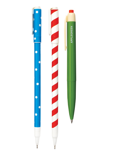 If your reader is also a writer, they'll appreciate these cheery patterned pens ($5 each, poketo.com ).