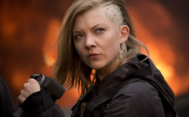 Dormer was prepared to go bald for her role as Cressida, Mockingjay 's rebel filmmaker, but she and director Francis Lawrence cooked up her memorable…