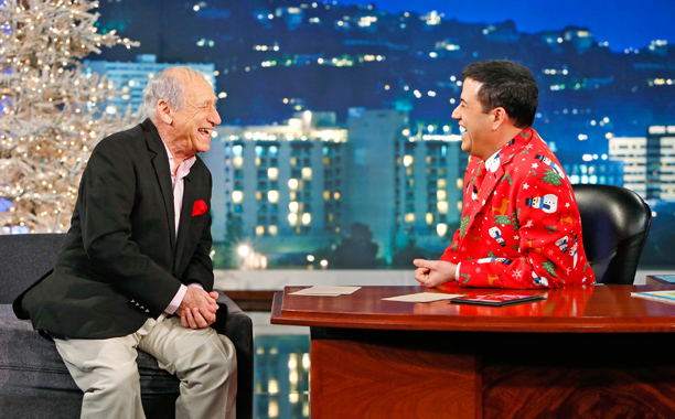 Jimmy Kimmel Mel Brooks