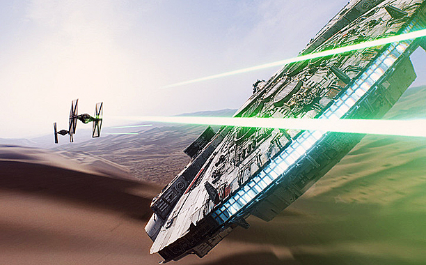 3. The Star Wars trailer awakens the force