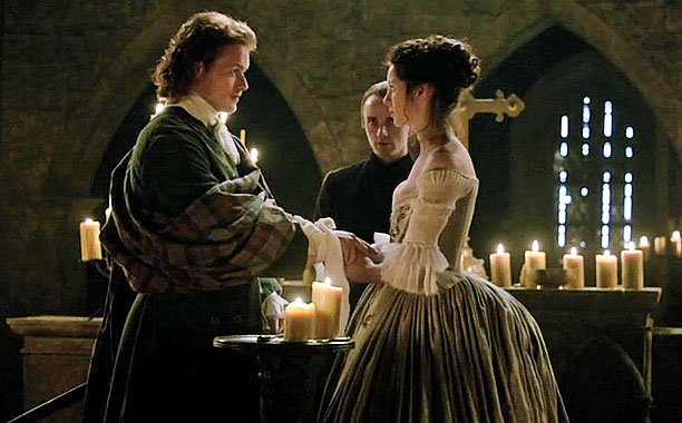 Jamie & Claire Have a Great Wedding Night, Outlander