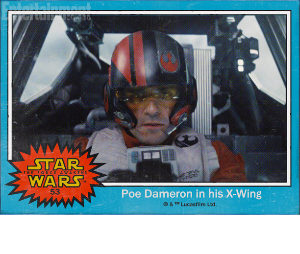 Now there's a name weighted with significance. Some fans have already gleaned an intense, not necessarily welcoming vibe off of Oscar Isaac's X-Wing pilot, and…