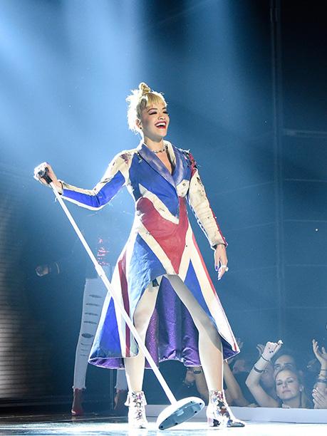 Rita Ora in New York in September