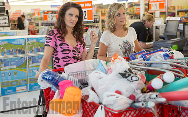 You've seen teenagers wreck their parents' houses with raging benders. But in Sisters , Tina Fey and Amy Poehler do it as fully grown adults.…