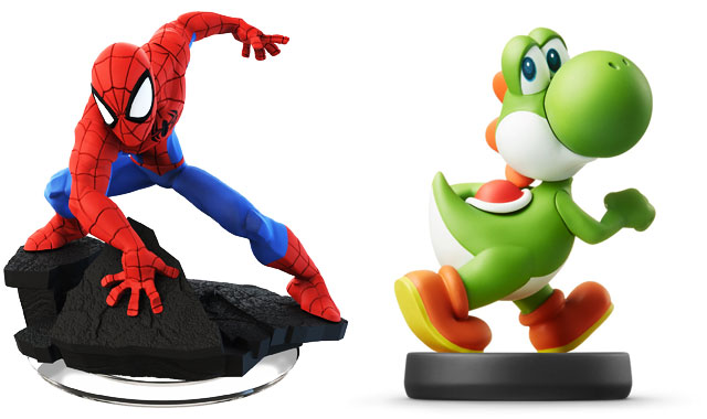 These tiny figurines connect to gaming consoles to grant access to different onscreen characters, features, and adventures. Spider-Man ($35 for two, infinity.disney.com ) and Yoshi…
