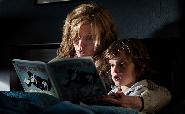 THE BABADOOK Essie Davis and Noah Wiseman