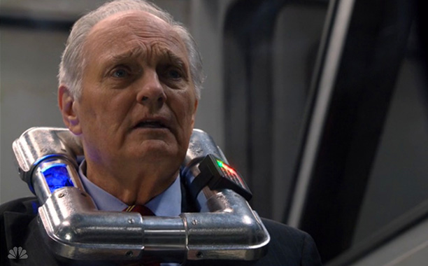 Alan Alda. Exploded. In front of our eyes. Some things you can't unsee. — Lanford Beard