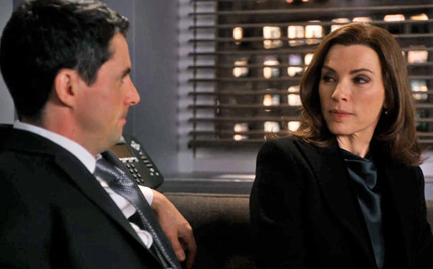 Alicia Doesn't Want to Talk, The Good Wife