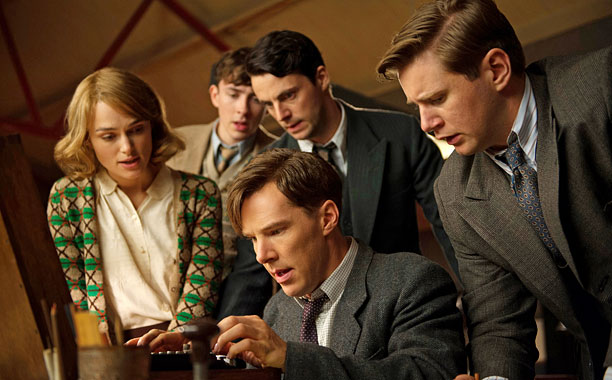 Boyhood The Imitation Game (shown) Selma The Theory of Everything Unbroken
