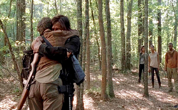 Carol & Daryl Reunite, The Walking Dead