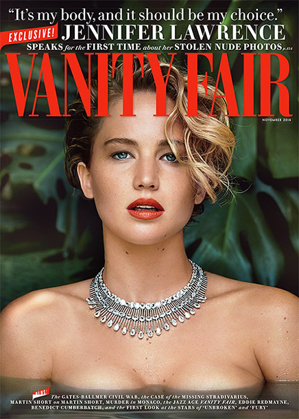 13. Jennifer Lawrence responds to nude photo theft