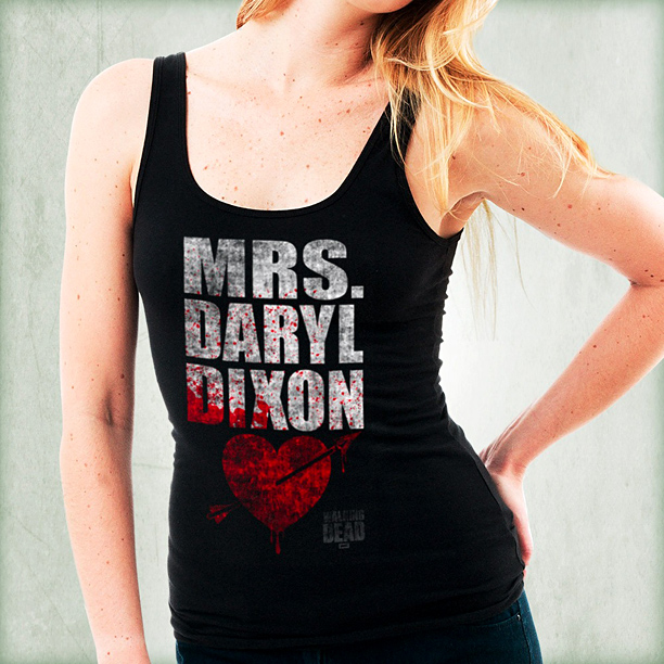 Mrs. Daryl Dixon tank top ($19.99)