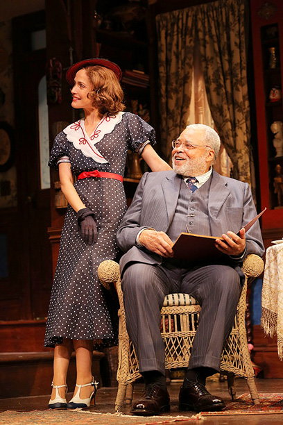 YOU CAN'T TAKE IT WITH YOU Rose Byrne and James Earl Jones