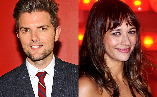 Adam Scott Rashida Jones
