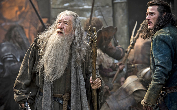 Like the title character of last year's The Hobbit: The Desolation of Smaug himself, Peter Jackson's big-screen adaptation of Tolkien's 320-page tale was itself a…