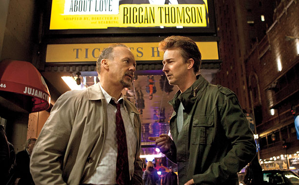 ''The editing in Birdman was the BEST! What the heck?!''— Laura ''Apparently the people who voted thought Birdman actually was filmed in one take and…