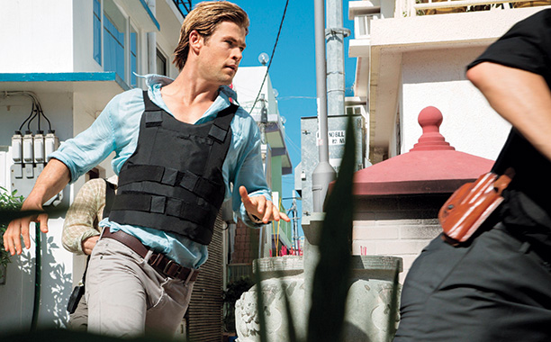 Chris Helmsworth in Blackhat