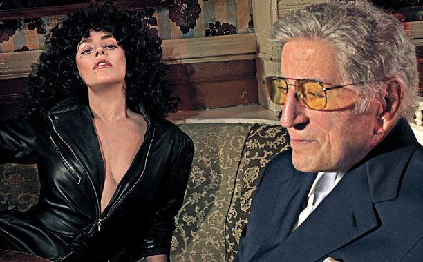 CHEEK TO CHEEK Lady Gaga and Tony Bennett