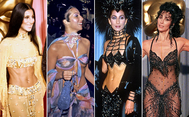 Style | Consider Cher the ultimate rule breaker, with one exception — when it comes to Oscar outfits, less is decidedly more. As in less fabric, more…