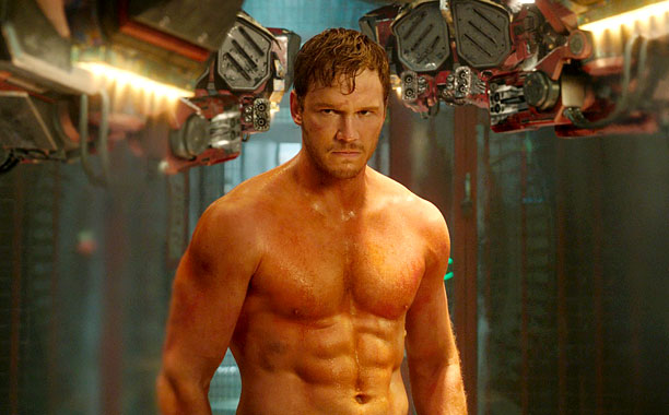 It's clear plenty of sweat went into Chris Pratt's physical prep to play Star-Lord Peter Quill in the Marvel action-adventure. Good thing his abs double…
