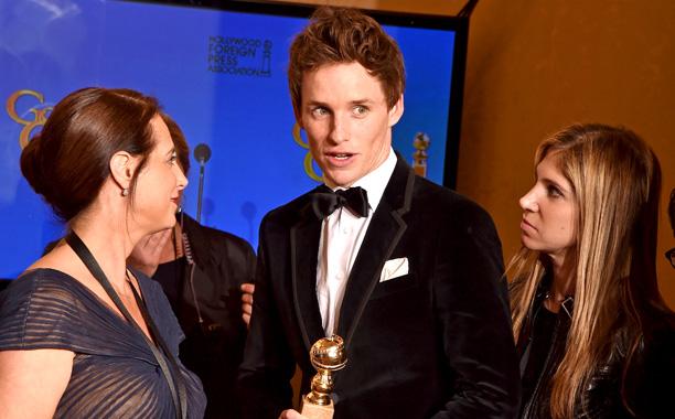 Golden Globes Eddie