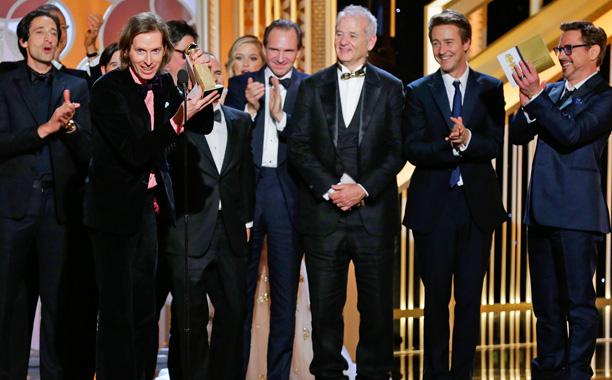 Golden Globes Grand Budapest