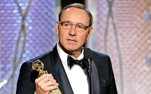 Golden Globes Kevin Spacey