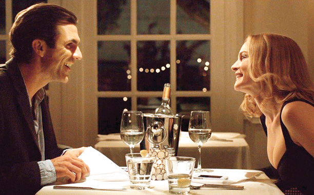 Paul Schneider and Heather Graham in Goodbye to All That
