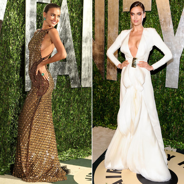 Style | When choosing gowns for her appearances at the 2012 and 2013 Vanity Fair after-parties, Shayk clearly embraced the ''If you've got it flaunt it'' philosophy…