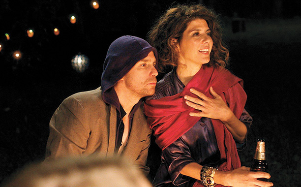 Sam Rockell and Marisa Tomei in Loitering with Intent