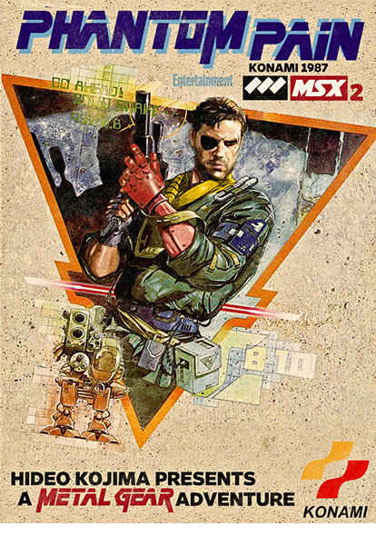 Original Metal Gear released on July 7, 1987, for the MSX2 computer