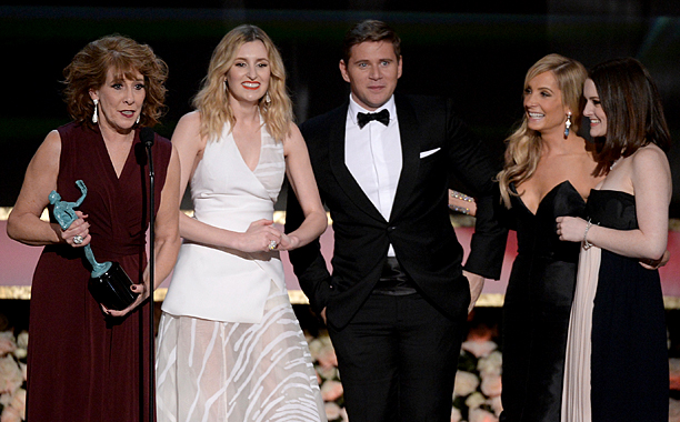 Screen Actors Guild Awards 2015 | Outstanding Performance by an Ensemble in a Drama Series The Downton Abbey cast has been in this position before, but this time they took the…