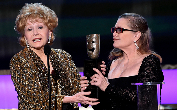 Screen Actors Guild Awards 2015 | Introduction for Debbie Reynolds' Lifetime Achievement Award Carrie Fisher introduced her mother Debbie Reynolds with a mix of zany, honest humor, self deprecation, and genuine…