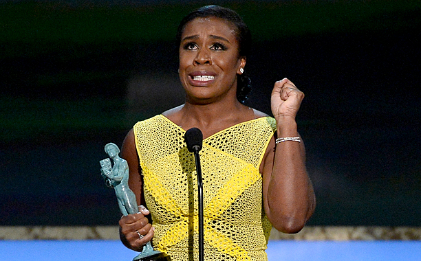 Screen Actors Guild Awards 2015 | Outstanding Performance by a Female Actor in a Comedy Series, Orange Is the New Black Getting the nod over the frequently honored Julia Louis-Dreyfus, Aduba…